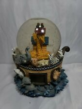 Noahs Ark Musical Snow Globe Children Kids Decor Collector Gift
