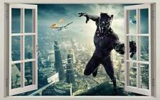 Black Panther Super Hero 3D Window Decal Wall Sticker Decor Art Marvel BW010
