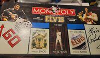 Elvis Presley Monopoly 25th Anniversary Collectors Edition Board Game Complete