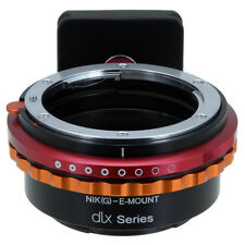 Fotodiox DLX Lens Adapter Nikon F-Mount G-Type Lens to Sony E-Mount Cameras