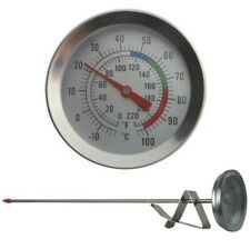 Candle Making Thermometer - Ideal Tool for Candle Makers For Melting Soy & Wax -