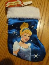 "New NWT Disney Princess Stocking 7""  ~ Cinderella~ Christmas Girl Gifts (7av)"