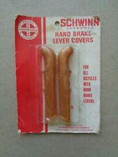 SCHWINN STINGRAY Bicycle Brake Handle Lever Covers-COPPERTONE GLITTER * NOS Card