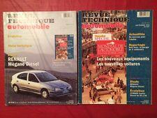 Revue Technique Automobile RENAULT Megane Diesel + Dossier Mondial de l'auto 96