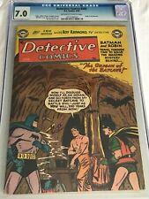 DETECTIVE COMICS #205 (3/54) CGC 7.0 OW/W ORIGIN OF THE BATCAVE BATMAN HiGrade