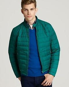 VINCE MENS GREEN PUFFER DOWN PARKA WINTER ZIPPER COAT JACKET XXL NWT $425