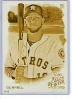 Yuli Gurriel 2019 Allen and Ginter 5x7 Gold #219 /10 Astros