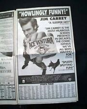 Best ACE VENTURA: PET DETECTIVE Film Movie Opening Day AD 1994 L.A  CA Newspaper