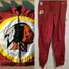 NFL Nike Washington RedSkins Jacket/SWEAT pants *Banned collector's dream *Parka