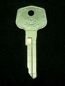 63TV MERCEDES BENZ TRUNK Key Blank 1955-1968 190 220 230 250 280 300 S SL SE SEC