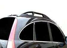 BARRE LONGITUDINALI NERE CORRIMANO RAILING DA TETTO  Honda CRV 2007-2012