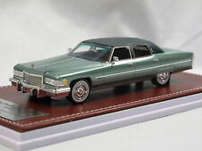 GiM 017b - 1976 Cadillac Fleetwood Brougham Galloway Green 1:43 Limited 150 pcs