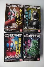 Kamen Rider VS SHODO 5th Figure 4 Kinds (Sky + Kabuto + GrassWarm + Zectrooper)