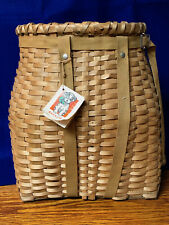 S51 Vintage Child's Adirondack Backpack Basket VG Condition