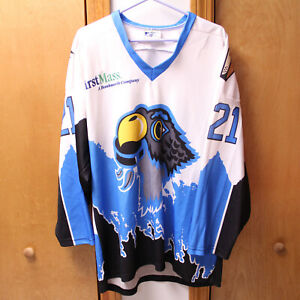 VTG SPRINGFIELD FALCONS AHL 21 HOCKEY JERSEY KEYBEC SUBLIME M COYOTES FIRSTMASS
