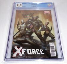 X-Force #2 CGC Universal Grade Comic 9.8 Variant Edition Book All-New Marvel-Now