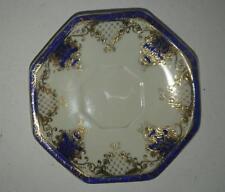 Vintage Noritake Saucer - Gold and Cobalt design
