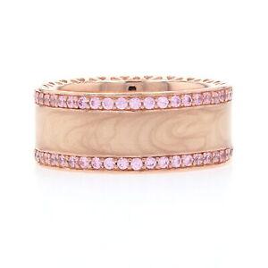 Pandora Rose Hearts of pandora Ring -Silver NEW Authentic 54 (US 7) 181024EN95