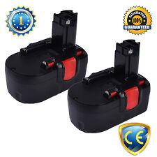 2PCS 18V 1.5Ah Battery For Bosch D-70745 2 607 335 535 2607335535 Cordless Drill