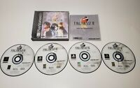 Final Fantasy VIII 8 (PlayStation 1) PS1 Black Label Complete With Manuals FF8