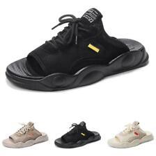 Mens Open Toe Slingbacks Flats Walking Sports Pool Summer Beach Slippers Shoes D