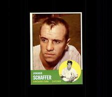 1963 Topps 81 Jim Schaffer NM #D460543