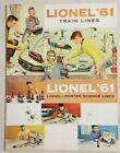 Lionel 1961 Train O27 HO Super O Science Sets Vintage Catalog Near Mint