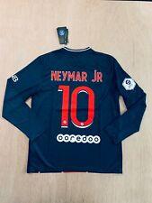 Neymar Jr #10 PSG home long sleeve soccer jersey 20/21 (ALL SIZES AVAILABLE)