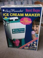 Vintage 1960s 1968 Suzy Homemaker Ice Cream Maker Toy Machine Plastic With Box