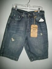 NWT FLYPAPER SILVER HAZE DESTRUCTED JEAN SHORTS SZ 29 Ret. $42.00