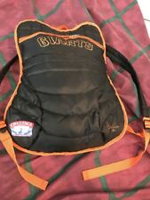 Bengie Molina San Francisco Giants catchers chest protector backpack RARE SGA