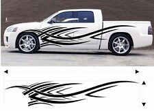flame power AUTO sport Car Vinyl Whole Body Waist Graphic Decal Sticker Styling
