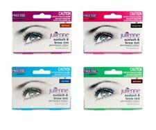 Julienne Permanent Eyelash Eyebrow Tint Colour Dye Lash Tinting + Eye Wand 15ml