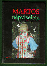 BOOK Hungarian Folk Costume in Slovakia Martovce regional ethnic clothing kroj