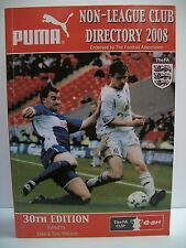 The Non League Club Directory: 2008 by Tony Williams Publications (Paperback,...
