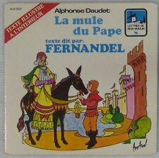 Fernandel 45 tours  Alphonse Daudet Mule du Pape