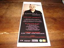 DOMINIQUE A - PETITE PUBLICITE AUGURI - SOLO TOUR !!!!!