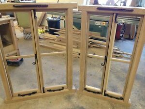 SOLID OAK MADE TO MEASURE WINDOWS