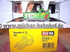 V15 WAB 3 Locomotive diesel Almetalbahn BRAWA 0368 1 NOUVEAU/87 µ