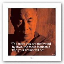 RELIGIOUS POSTER Quote Dalai Lama