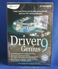 Driver Genius 9 SIGILLATO WINDOWS 7 WINDOWS XP da Avanquest