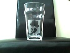 Dirty Old Man Steptoe Personalised Engraved Etched Beer Pint Glass