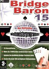 Bridge Baron 15 [import allemand]( POKER ) PC NEUF  Windows 95,98,Me,XP,NT4