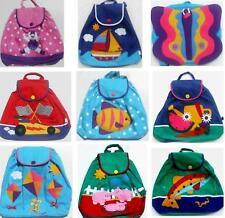 Lot Of 5 Colorful Stephen Joseph Kids Backpacks - New