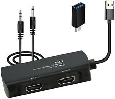 HDMI Video Capture Card 1080P 60FPS HD Game Capture Device USB 3.0 Cam Link