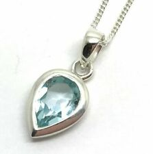 Topaz Blue Fine Necklaces & Pendants