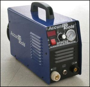 BRAND NEW 50 AMP AIR PLASMA CUTTER DC INVERTER 50A CUTTING! DUAL VOLTAGE!