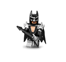 LEGO SERIE BATMAN GLAM METAL SERIES LEGO BATMAN MOVIE MINIFIGURES 71017 NEW