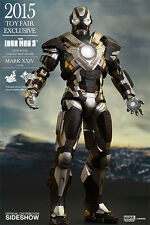 Iron Man 12 #039; Mark XXIV MK 24 Tank Toyfair 2015 Exclusive 1 6 Scale Action Figure