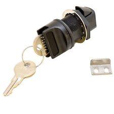 Boat Locking Latch w/ Keys | Lund Boats Black (Kit)